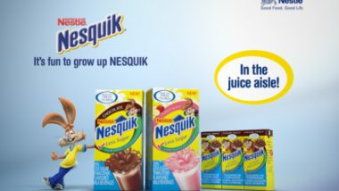 Nesquik Less Sugar